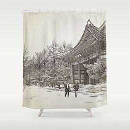 Deoksugung Shower Curtain