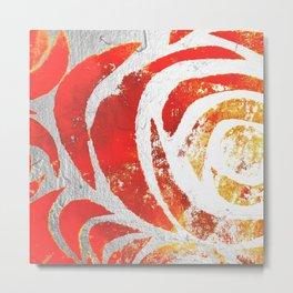 Sum' Rose Metal Print