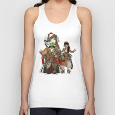Cyber Sultan and Sultana.  Unisex Tank Top