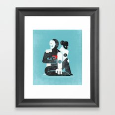 Man & woman ... Framed Art Print