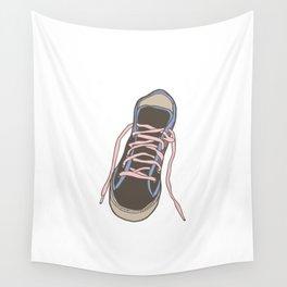 Trainer / Sneaker Illustration Wall Tapestry