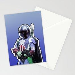Captain Fett Stationery Cards