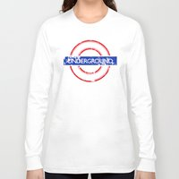velvet underground Long Sleeve T-shirts featuring Underground by eARTh