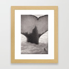 Illustration from picture book The Only Child Framed Art Print