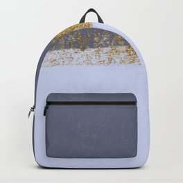 Azure and golden skies Backpack