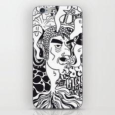 cabeza iPhone & iPod Skin