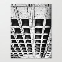 concrete Canvas Prints featuring Concrete by Cobo