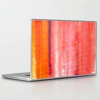rothko Laptop & iPad Skins featuring Summer heat by Picomodi