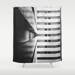 Aperture Science Shower Curtains