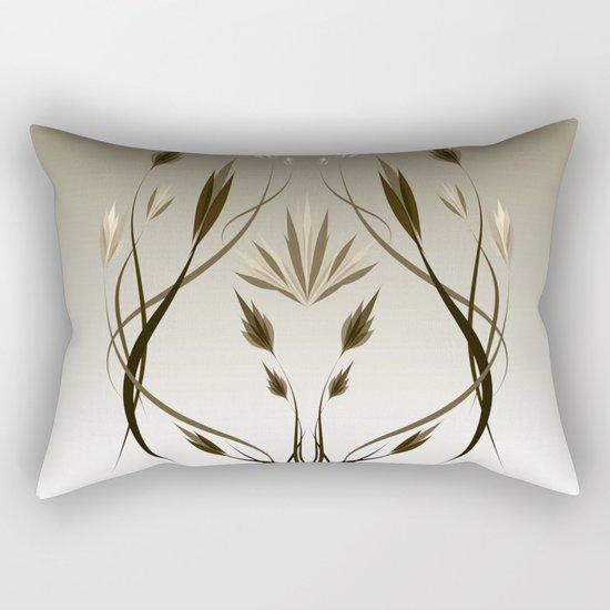 floral emblem 1 Rectangular Pillow
