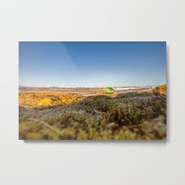 Iceland middle of nowhere Metal Print