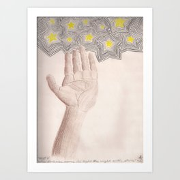 I'll Light The Night With Stars Art Print