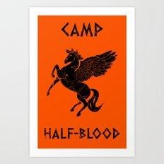 Camp Half-Blood Art Print