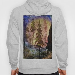 trees of many colors Hoody
