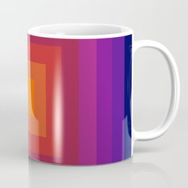 Freaky Deaky - abstract retro 70s style throwback outtasight art decor 1970s vibes Coffee Mug