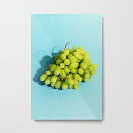 Grapes Metal Print