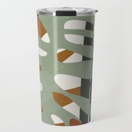 Abstract Plant Life III Travel Mug