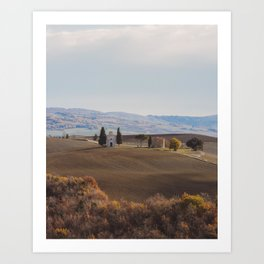 Overviews of Tuscany Art Print