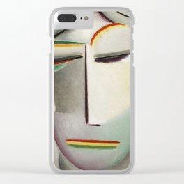 Alexei Jawlensky - Heilandsgesicht Remote King - Buddha Clear iPhone Case