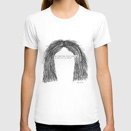 Short hair (famous tumblr quote) by Pien Pouwels T-shirt