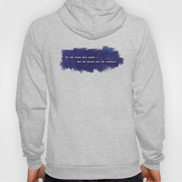 To the Stars that Listen (White) - A Court of Mist and Fury Hoody