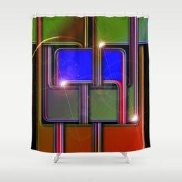 Eight Shower Curtain