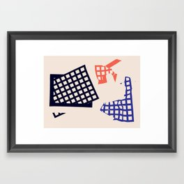 Practice Gravity Framed Art Print