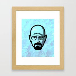 Walter White - Breaking Bad Framed Art Print