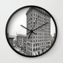 1906 Union Trust Bank Building, Providence, Rhode Island Wall Clock