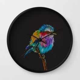 Galaxy bird Wall Clock
