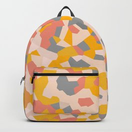 Exhale Arise Yellow Sun Pink Backpack