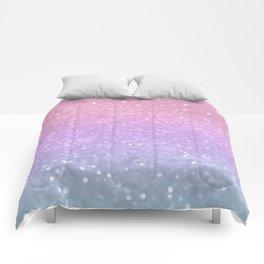 Unicorn Princess Glitter #1 #pastel #decor #art #society6 Comforters