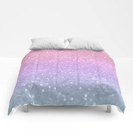 Unicorn Princess Glitter #1 (Photography) #pastel #decor #art #society6 Comforters