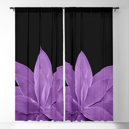 Purple Agave #1 #tropical #decor #art #society6 Blackout Curtain