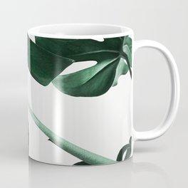 Monstera, Leaves, Plant, Green, Scandinavian, Minimal, Modern, Wall art Coffee Mug