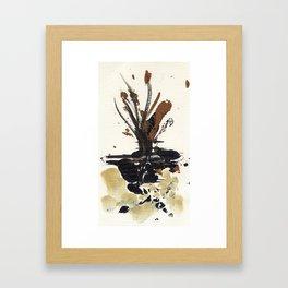 In Limbo - Sepia I Framed Art Print