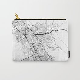 Minimal City Maps - Map Of Hayward, California, United States Carry-All Pouch