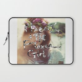 """PHOENIX AND THE FLOWER GIRL """"photo synth thesis"""" PRINT Laptop Sleeve"""