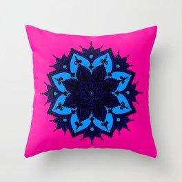Kids Mandala Throw Pillow