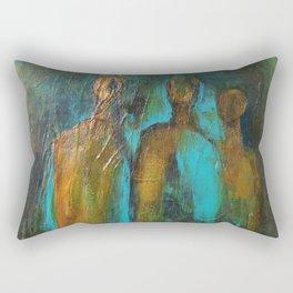 Looking Forward Rectangular Pillow