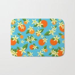 Orange Blossom Daydreams Bath Mat