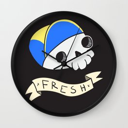 Dead Prince of Bel-Air Wall Clock
