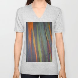 Rainbow Eucalyptus Magic Unisex V-Neck