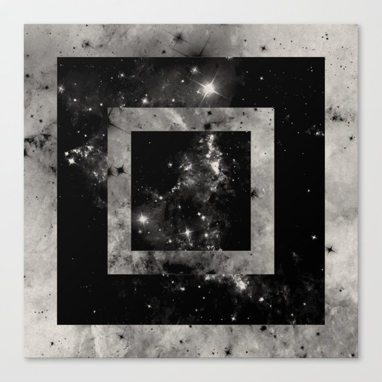 Opposite Space Canvas Print