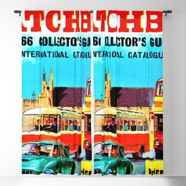 1966 Matchbox International Toy Car Collector's Guide London Poster Blackout Curtain