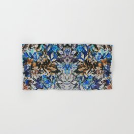 Rorschach Flowers 10 Hand & Bath Towel