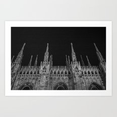 Milan: a city of Paradox  Art Print