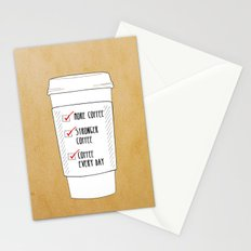 (More) Coffee Stationery Cards