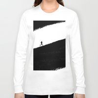 running Long Sleeve T-shirts featuring Running by eARTh