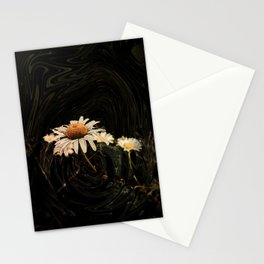 Camomile in pattern Stationery Cards